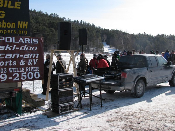 2010 Vintage Snowmobile Race